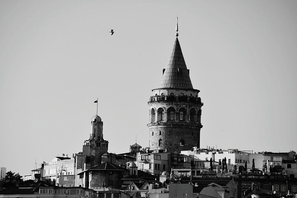 İstanbul eski Galata Kulesi