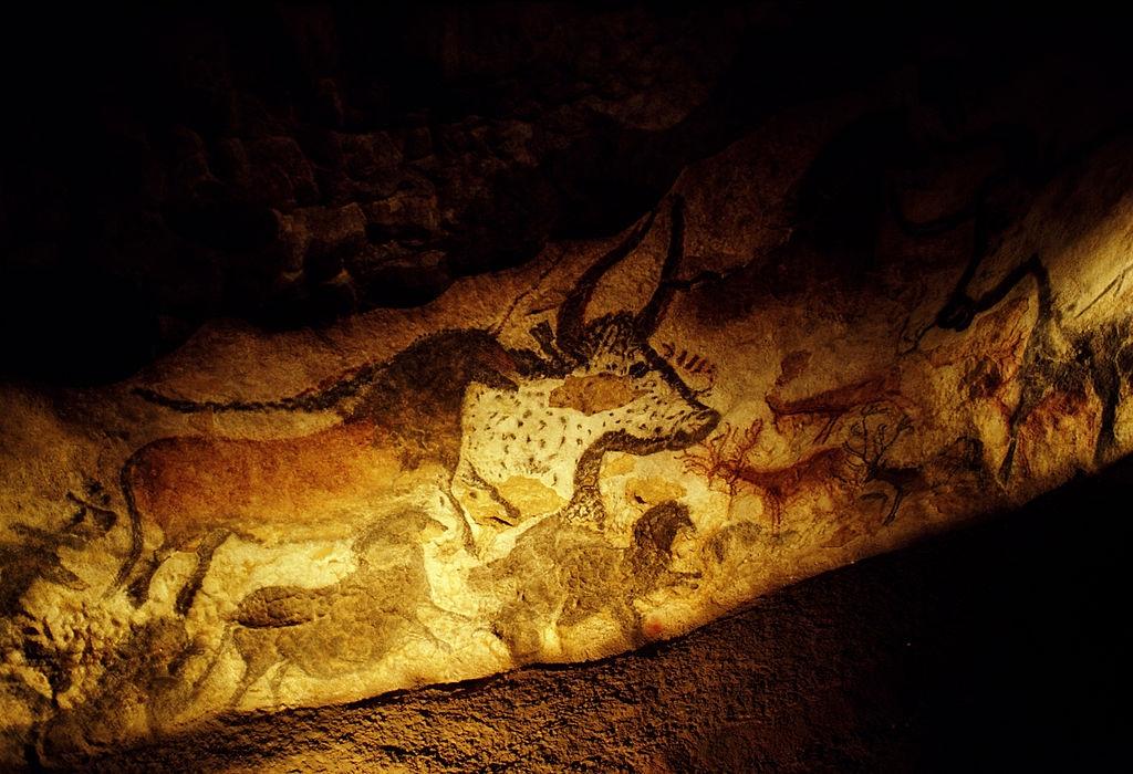 lascaux Mağarası Boğa