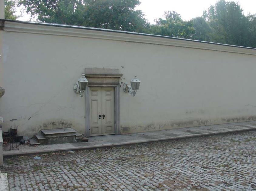 Dolmabahçe Sarayı Kuşluk Kapısı