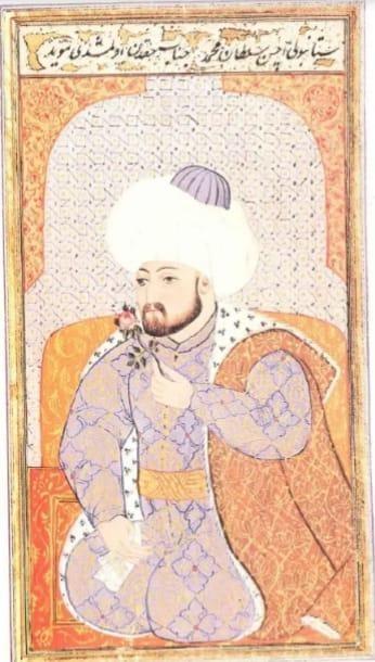 Fatih Sultan Mehmed Minyatürü