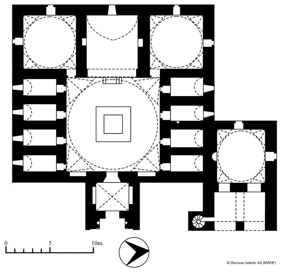 İnce Minareli Medrese Planı
