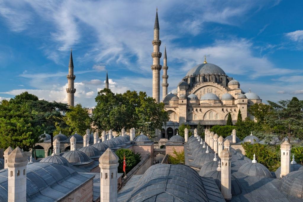 İstanbul Süleymaniye Külliyesi