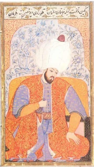 Kanunu Sultan Süleyman Minyatürü