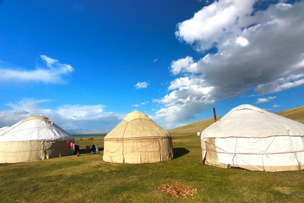 Orta Asya Çadır Topak Ev
