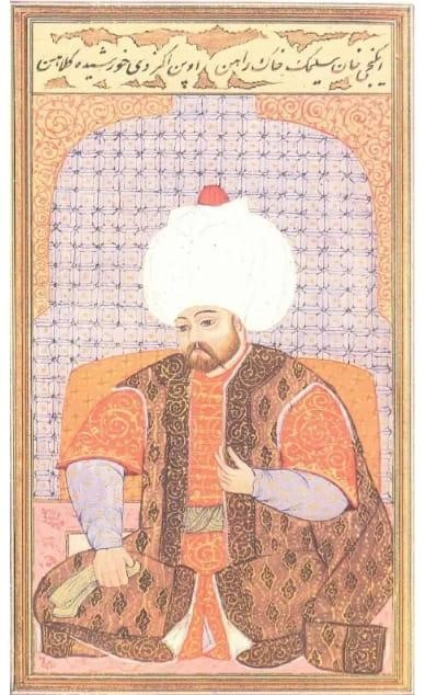 Sultan II. Selim Minyatürü