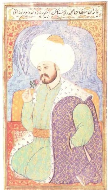 Sultan I. Mehmed Çelebi Minyatürü