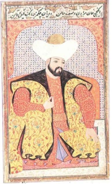 Sultan II. Murad Minyatürü