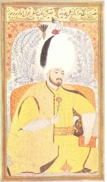Sultan III. Murad Minyatürü