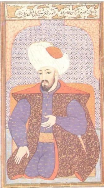 Sultan Osman Gazi Minyatürü