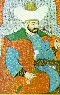 Sultan Yıldırım Beyazid Minyatürü